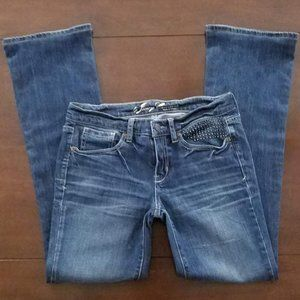 Juicy Couture Stonewashed Bootcut Jeans
